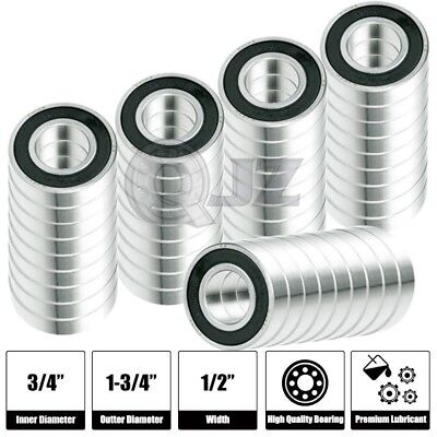 50x R4A-2RS Ball Bearing 0.75in x 0.25in x 0.2812in Free Shipping 2RS RS Rubber