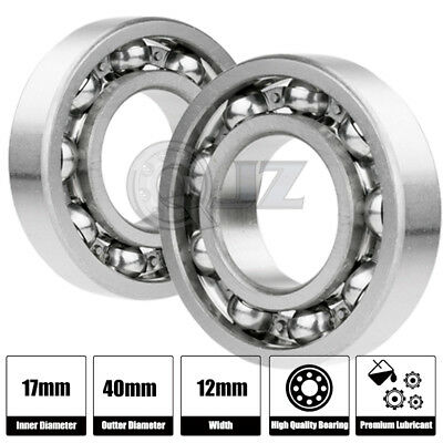 10x 6002-OPEN Ball Bearing 15mm x 32mm x 9mm QJZ Brand NEW Premium