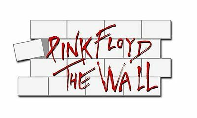 Pink Floyd The Wall Logo Official Pin Badge One Size