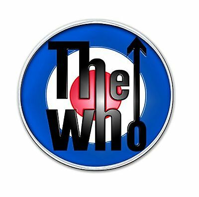 The Who classic mod Target Logo new Official Metal Pin badge One Size