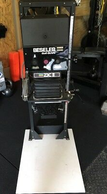 Beseler 23C II XL Dual Dichro Color & B&W CONDENSOR Head  & Adjustable Base