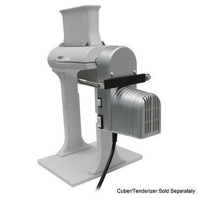 Meat Tenderizer Electric Motor Machine Commercial Power Cuber Jerky Slicer Steel