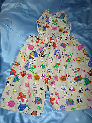 bf1ea895f97b Adult Baby Sissy Animal Party Romper Dungaree Suit Bib Top 30-45 Waist