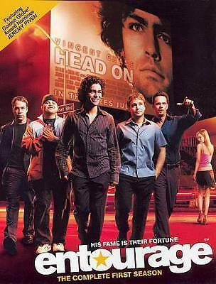 Entourage DVD The Complete First Season 2015 2-Disc Set Like New