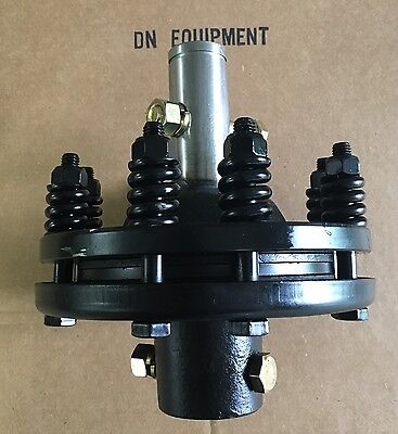 "Independent Slip Clutch 1-3/8"" Smooth Shearbolt Both Ends  Add to your PTO Shaft"
