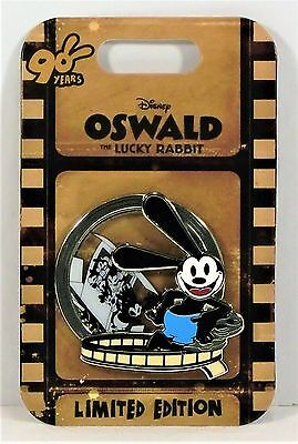 Disney theme parks oswald the lucky rabbit plush doll toy 9 new disney 90th anniversary oswald the lucky rabbit runaway train 3d pin le 3750 new ccuart Images