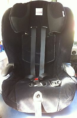 Safe-n-Sound Maxi Rider AHR Baby Child Baby Car Seat 2-7yrs Black Cup Holders