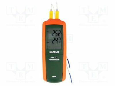 1 pcs Temperature meter; LCD, with a backlit; Accur: ±(0,15% + 1°C)
