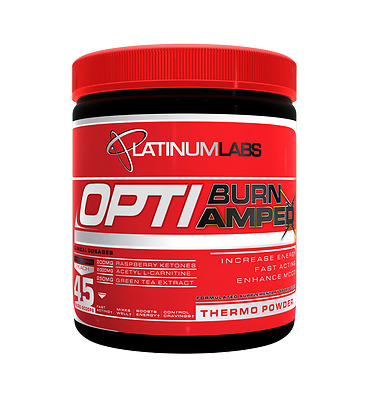 Platinum Labs Optiburn Amped Fat Burner | 45 Serves | Oxy Shred Fat Loss Dnpx