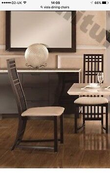 Italian Viola Dining Chairs High Back Ch-9133 (Set Of 4 Chairs)