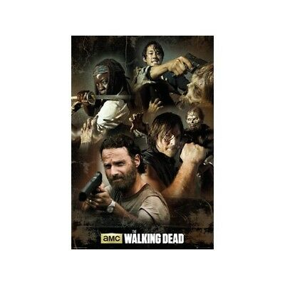 POSTER MAXI 61X91,5 CM - DARYL BLOODY HAND NUOVO --367511 THE WALKING DEAD