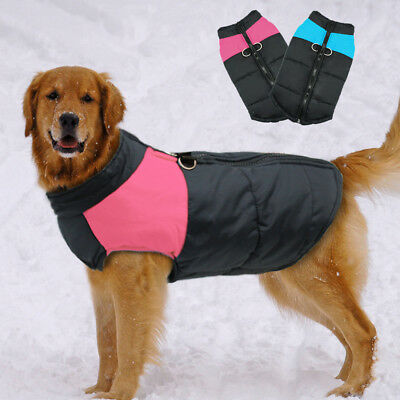 Winter Warm Dog Coat Clothes for X-Large Dogs Waterproof Dog Jacket Vest 6XL 7XL