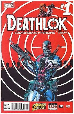 Deathlok#1 Vf/nm 2014 Marvel Comics
