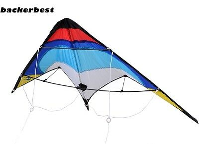 Outdoor Activiy Sport Flying Wing span Triangle Delta Dual Line Stunt kite 2017