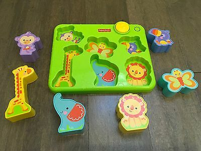 Fisher-Price Silly Sounds 3d Puzzle Developmental Baby Toy Music