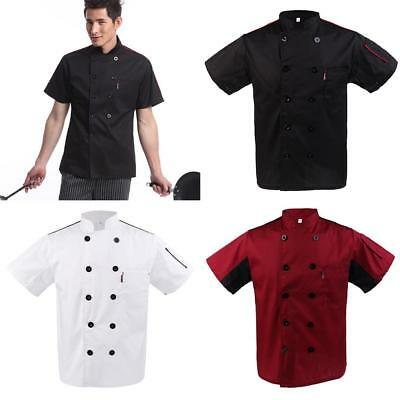Chef Jacket Catering Uniform Mesh Sleeve WITH PEN POCKETS Chefwear Coat