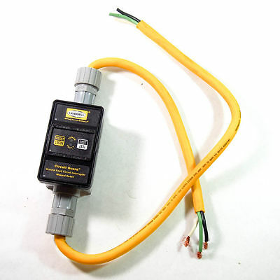 Hubbell GFP2301 Wiring Device Kellems Line Cord GFCI 30A 240VAC