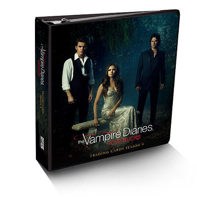 2016 Vampire Diaries Season 4 Factory Sealed Trading Card Binder w/ Costume M24