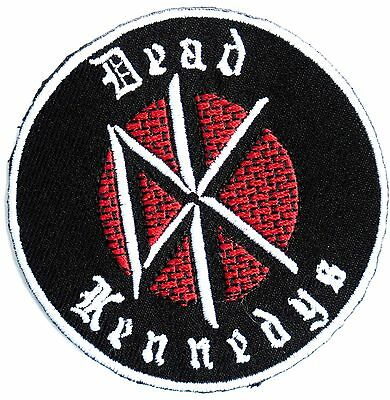 DEAD KENNEDYS DK logo Embroidered Iron On Sew On Shirt Jacket Badge Patch