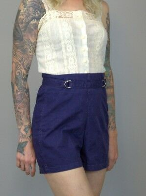 vintage 1930s crew shorts high waisted
