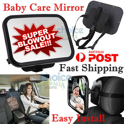 Car Baby Seat Mirror Inside View Back Safety Rear Ward Facing Child Baby Mirror