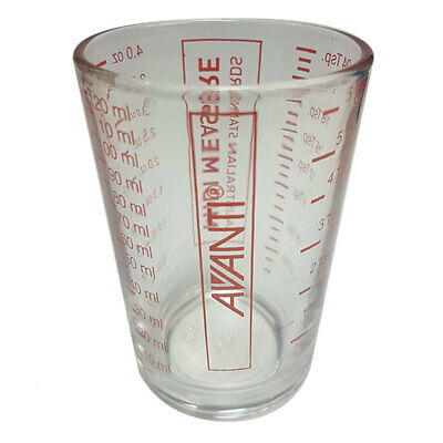 Avanti Midi Measuring Cup/Shot Glass Kitchen Measure Cook Utensil TBS/TSP/OZ/ML