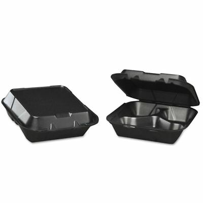 Genpak Snap-It Takeout Foam Clamshell Food Containers - GNPSN2433L