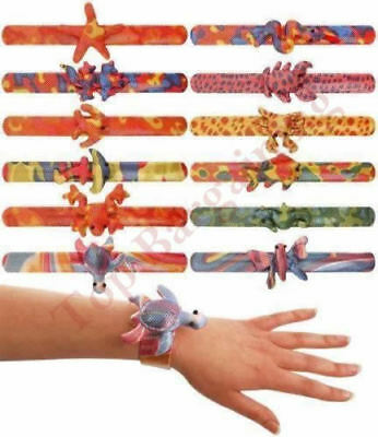 Sea Animal Snap Bracelet Wristband Party Bag Fillers Kids Children Toy UK