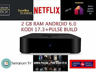 M8S PRO Android 6.0 2 GB RAM Smart TV BOX WIFI 3D MOVIES SPORTS TV GAMES