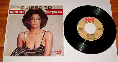 LINDA CLIFFORD-REPOSSESSED-DISCO 45 GIRI-MADE IN ITALY-del 1979-RARO