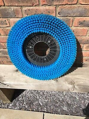 """Rotary Floor Scrubber Brush 20"""" Blue Soft to Medium - USED ONCE"""