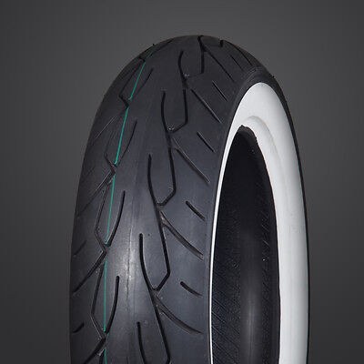 V-Rubber 150/60 X 18 White Wall Rear Tyre. Suit Custom, Harley, Bobber Etc