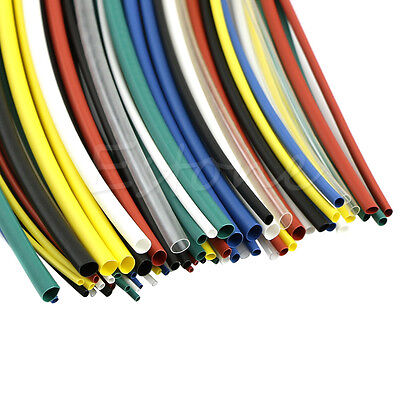 NEW 70pcs Assortment 2:1 Heat Shrink Tubing Tube Sleeving Wrap Wire Cable Kit US