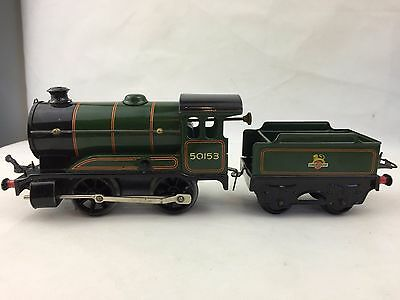 Hornby Trains - Locomotive No. 51 AND Tender No. 51 - Meccano - Made In England