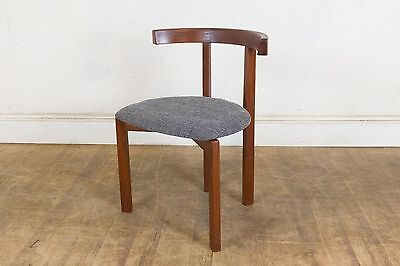 Vintage Retro Danish Afromosia 'T' Chair by Peter Hvidt for France and Sons