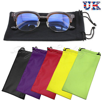 Glasses Reading Sunglasses Case Drawstring Soft Wallet Phone Travel Pack Pouch 1