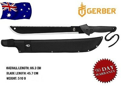 GERBER Hunting Camping Machete Survival Knife Hunting Tactical Blade With Sheath