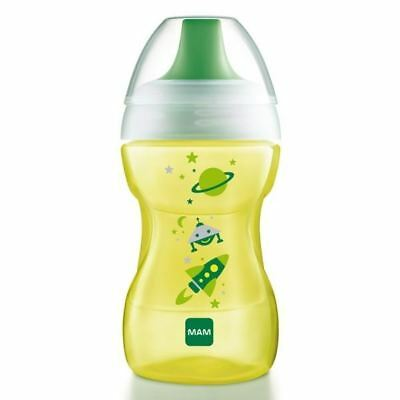 MAM Learn To Drink Cup 270ml 8+ Months Green 1 2 3 6 12 Packs