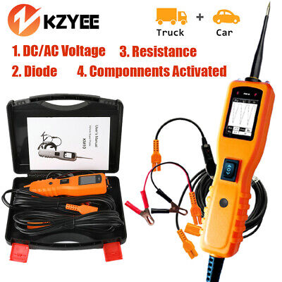 KZYEE KM10 Car Circuit Tester Electrical System 12V 24V Volt Power Scan AVOmeter