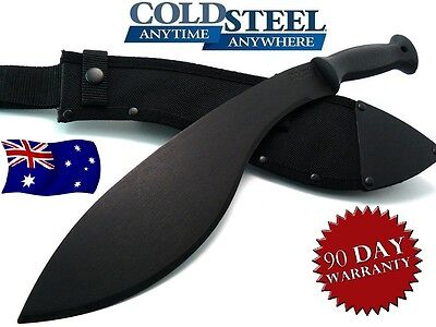 Cold Steel Machete Knife Kukri Action Hunting Blade Camping Machete With Sheath