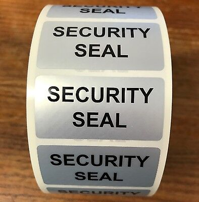 Mini Void Tamper Evident Security Seals Labels (Stickers) 25mm x 50mm