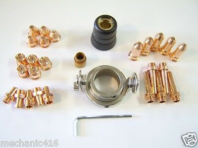 28 Piece 60 Amp Deluxe Consumable Kit Eastwood Versa Cut Plasma Cutter Torch