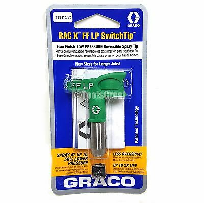 Graco Rac X FFLP 412 Fine Finish Paint Spray Tip Size 412