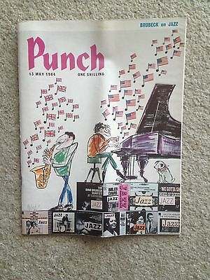 Punch magazine 13th May 1964. ORIGINAL. (list of contents on 2nd photo)