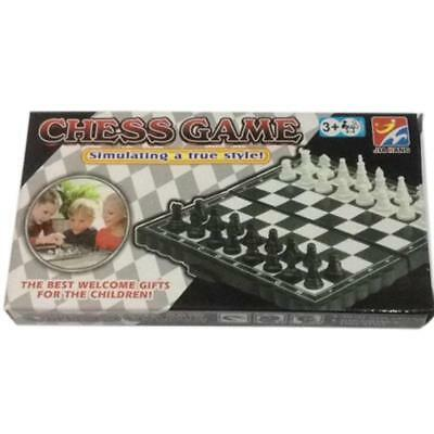 Magnetic Folding Chess Board Portable Set With Pieces Games Sport Kids Toy Gift