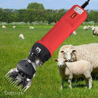 500W Electric Sheep Shearing Clipper Shear Goats Supplies Alpaca Farm Shaver Kit