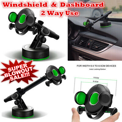 Universal 360° Rotation Car Windshield Phone Mount Holder For Mobile Iphone GPS