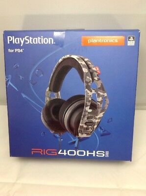 PLANTRONICS PlayStation 4 Headset - Rig 400HS Camo - PS4