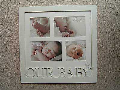 Bambino by Juliana 'Our Baby' Collage Multi Photo Frame - BNIB