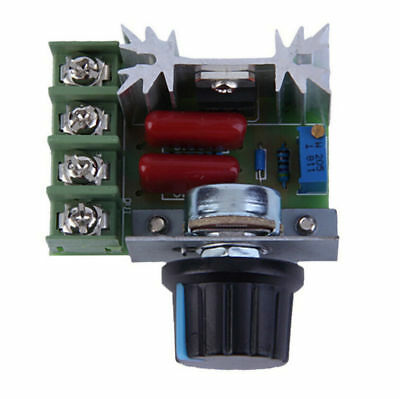 Thermostat SCR Voltage Regulator 2000W Controller Dimmers Speed Dimming 220V